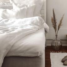 -Linn white linen bed sheet Lundkvist-21