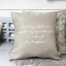 -Pillow with your favorite saying-2