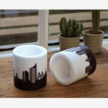 -Modern candle set Leipzig 2 candles with Leipzig skyline city candles by 44spaces-22