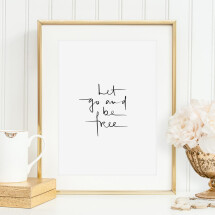 -Tales by Jen Art Print: Let go and be free-21