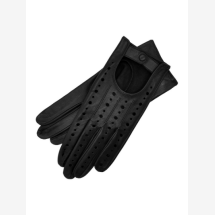 -Rimini Womens Leather Driving Gloves in Black-21