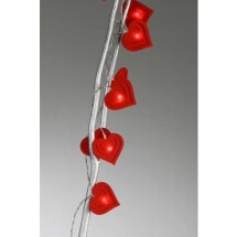 -Garland with red felt heart-21