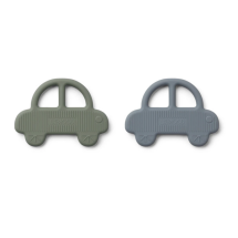 -Geo Teether Auto 2-pack green blue-21