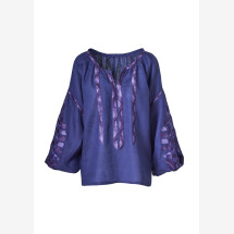 -Anahit embroidered linen blouse-21