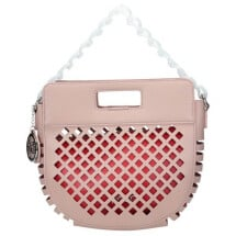 -Summer bag in pink eco-leather-21