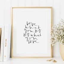 -Tales by Jen Art Print: Love what you do-20