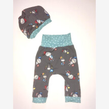 -Birth gift baby pants with hat-21