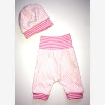 -Baby pants with matching hat-21