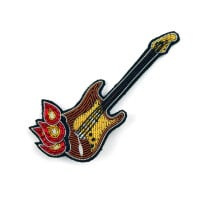 -Macon and Lesquoy Burning Guitar Brooch-21