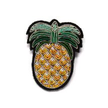 -Macon and Lesquoy Pineapple Brooch-21