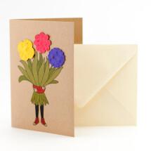 -Flower girl greeting card-21