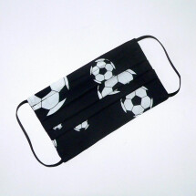 -Mouth-nose mask with soccer balls black and white-21