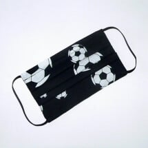 -Mouth-nose mask with soccer balls black and white-20
