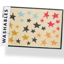 -Waschbare Fußmatte Motiv Sterne von Gift Company-21
