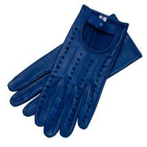 -Rimini Womens Leather Driving Gloves Royal Blue-21