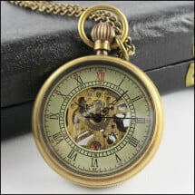 -Mechanical teatime mechanical pocket watch-2