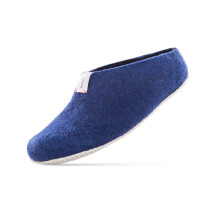-BAABUK WOOL SLIPPERS MEL Navy Blue-23