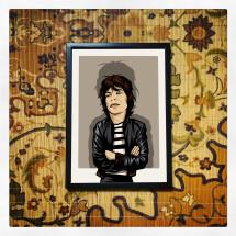 -Mick Jagger Print A4-22
