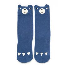 -Blue knee socks bear-21