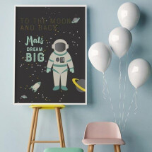 "-Personalized Poster A3 ""Astronaut""-2"