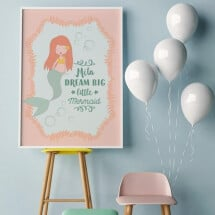 "-Personalized Poster A3 ""Mermaid""-2"