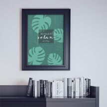 "-Personalized Poster A2 ""Palm Tree""-2"