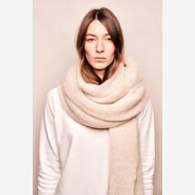 -Mohair scarf Cream-21