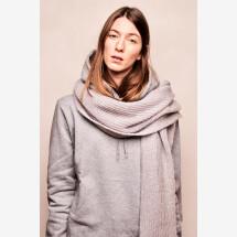 -Mohair scarf light gray-21