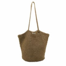 -Monk and Anna Brown Tsue Straw Bag-21