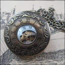 -Great teatime mechanical pocket watch DUPLICATE-2