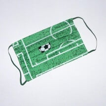-Mouth-nose mask soccer field green-white-black-21