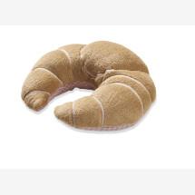 -Plüsch Croissant zum Knistern mit rosa Vichy-23