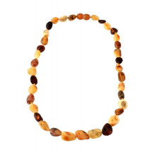 -Natural Baltic amber necklace-21