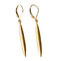 -Needle Earrings Gold-21