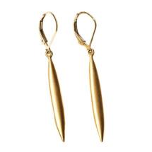 -Needle Earrings Gold-21