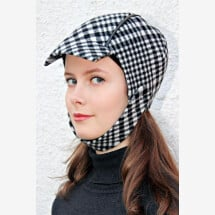 -black and white checkered toggle cap NELA_215-21
