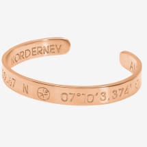 -NORDERNEY Coordinate Arm Bracelets Ladies rose gold plated-2