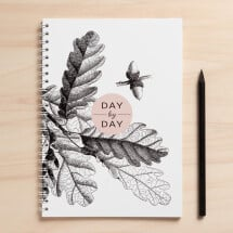 "-A5 notebook ""day by day""-21"