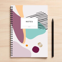"-A5 Notebook ""Notes05 white sheets"" DUPLICATE-2"