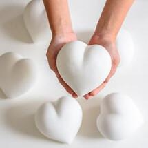 -Porzellan Herz mit glatter Oberfläche-22
