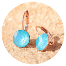 -Artjany earrings azure blue rose gold-2