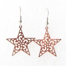 -Earrings star boho style-21