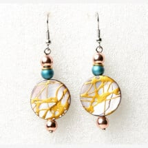 -Earrings: mother-of-pearl-21