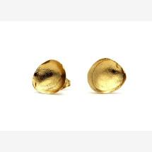 -Stud gold earrings-22
