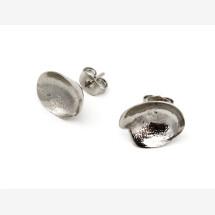 -Touche stud silver earrings-22