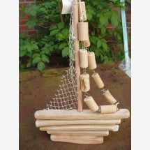-Driftwood sailors for hanging or standing-21