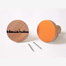 -Paris Wardrobes Knobs made of beech wood wall hooks-23