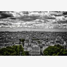 """-Foto-Print hinter Acrylglas """"Paris"""" Montmartre-20"""
