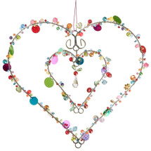 -decorative pearl heart of the company Bell Arte-21
