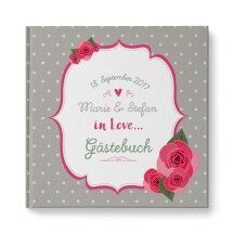 "-Personalized Wedding Guestbook ""Nostalgia""-2"